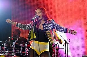 "Rihanna Visits MTV's ""The Seven"" - November 15, 2010"