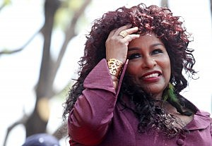 Chaka Khan Honored On The Hollywood Walk Of Fame