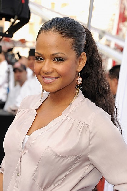 "Christina Milian-World Premiere Of ""IRIS - A Journey Into The World Of Cinema By Cirque du Soleil"" At The Kodak Theatre - Red Carpet"