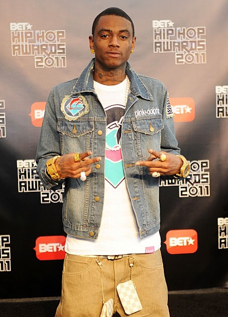 Soulja Boy-BET Hip Hop Awards 2011 - Arrivals