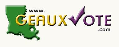 Geaux Vote Saturday, October 22nd!