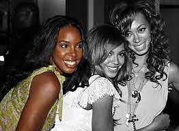 Kelly Rowland, Beyonce and Solange