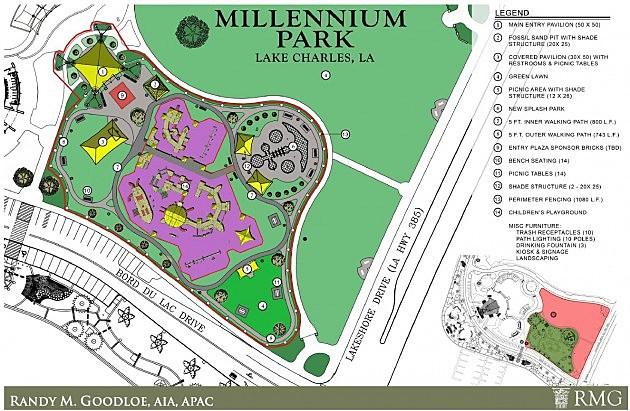 millennium park plans