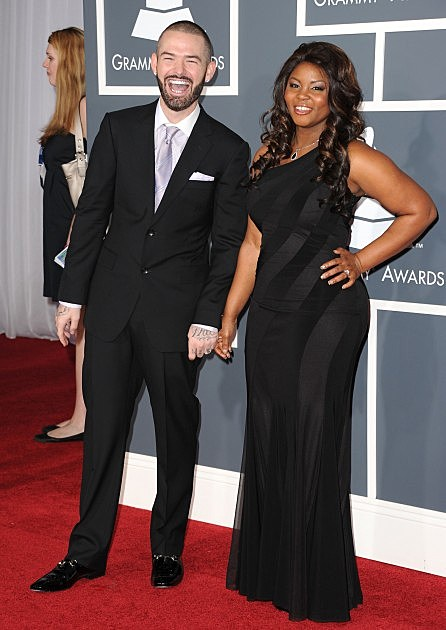 Paul Wall and wife Crystal Wall-The 53rd Annual GRAMMY Awards - Arrivals