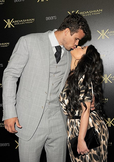 Kim K and Kris Humphries-Kardashian Kollection Launch Party