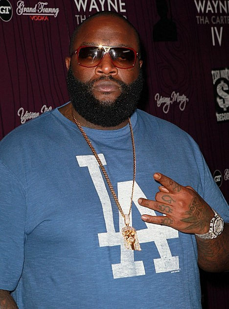 "Rick Ross-Cash Money Records' Lil Wayne Album Release Party For ""Tha Carter IV"""