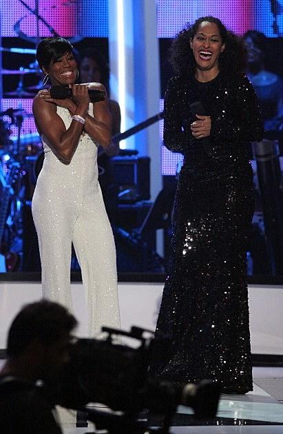 Tracee Ellis Ross & Regina King-Black Girls Rock! 2011