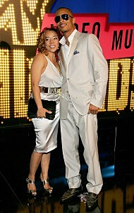T.I. & Tiny-2007 MTV Video Music Awards - Arrivals