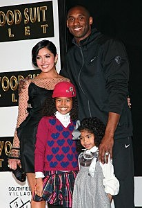 Kobe Bryant Hand And Footprint Ceremony At Grauman's Chinese Theater