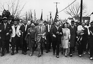 Luther King Marches