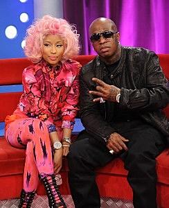 """Nicki Minaj, 2 Chainz, Beenie Man And Cam'ron Visit BET's """"106 & Park"""""""