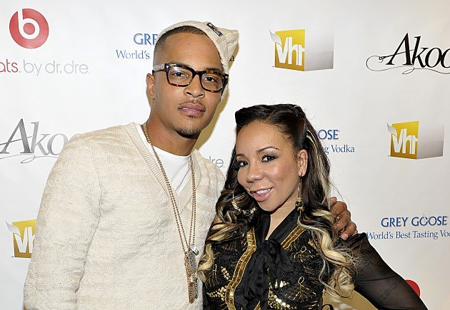 T.I. & his wife Tiny
