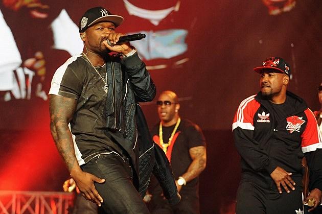 50 Cent during Chris Lighty Tribute - BET Hip Hop Awards 2012