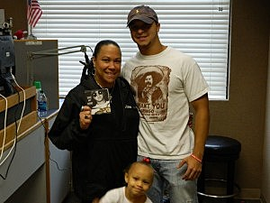 Gina Cook, Rusty Metoyer and Lil London