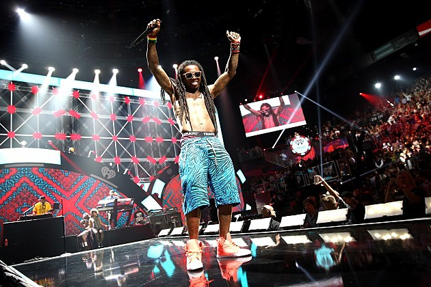Lil Wayne at 2012 iHeartRadio Music Festival