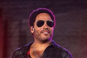 Lenny Kravitz Performs In Fed Square