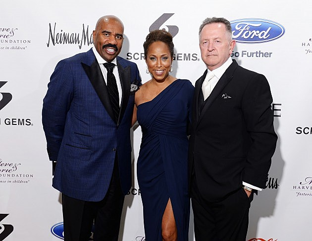 Steve & Marjoire Harvey at their Foundation Gala in New York City May 14, 2012