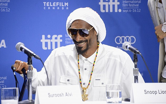 Snoop Dogg aka Snoop Lion at Toronto International Film Festival 2012