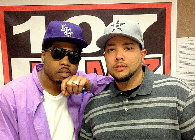 Webbie with Big Boy Chill @ 107 Jamz, November 13, 2012