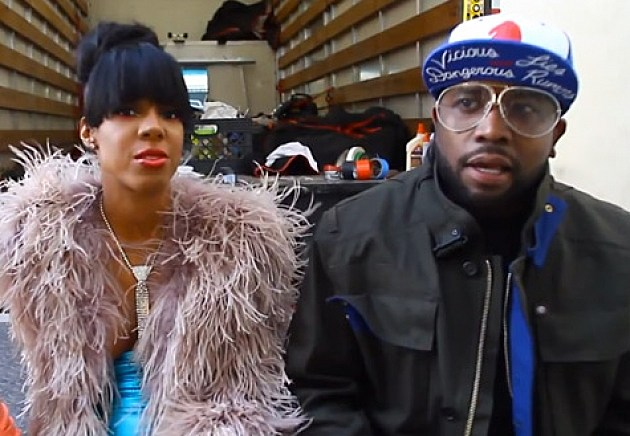 "Kelly Rowland & Big Boi Behind the Scenes of ""Mama Said"" Video Shoot"