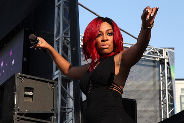 K. Michelle is having IRS problems.
