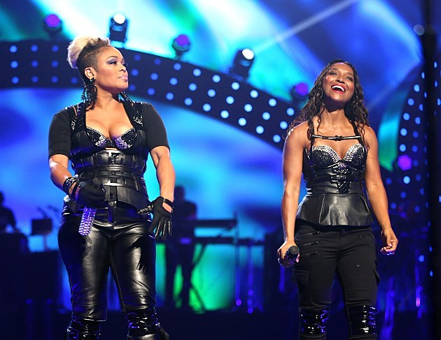TLC @ iHeartRadio Music Festival Sept 2013