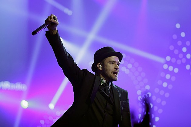 Justin Timberlake at iHeartRadio Music Festival 2013