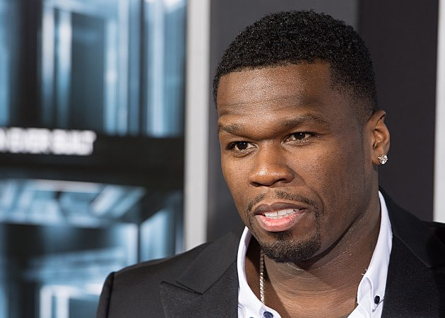 50 Cent attending 'Escape Plan' NY Premiere 2013