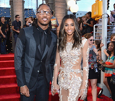Future pops the question and gives Ciara a 15-carat engagement ring