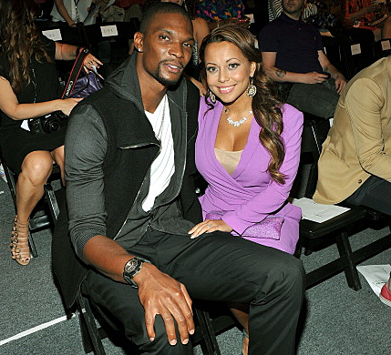 Chris and Adrienne Bosh-Photo by Stephen Lovekin Getty Images for Mercedes-Benz Fashion Week