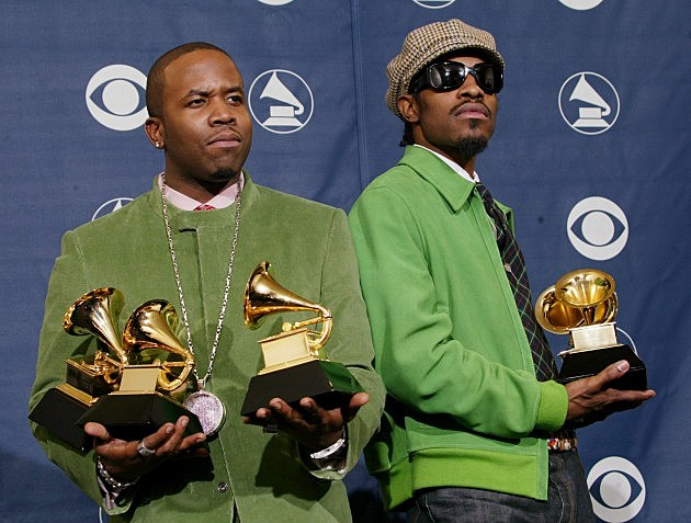 Outkast @ 46th Annual Grammy Awards - Pressroom