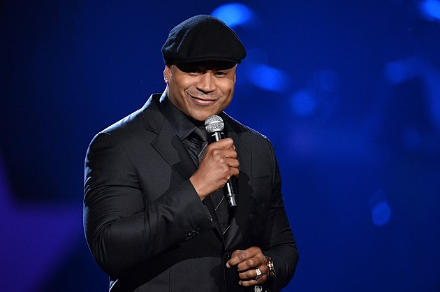LL Cool J hosting the Grammy's. 1-27-14
