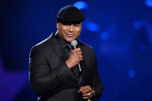 LL Cool J hosting the Grammy's. 1-27-14