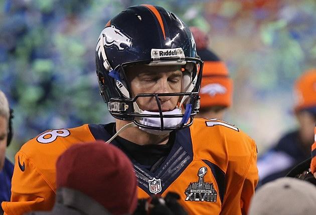 Peyton Manning After Losing Super Bowl XLVIII