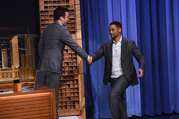 """""""The Tonight Show Starring Jimmy Fallon"""" Debut Episode with Will Smith"""
