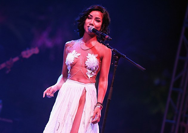 Jhene Aiko @ 2014 Coachella Valley Music and Arts Festival - Day 3