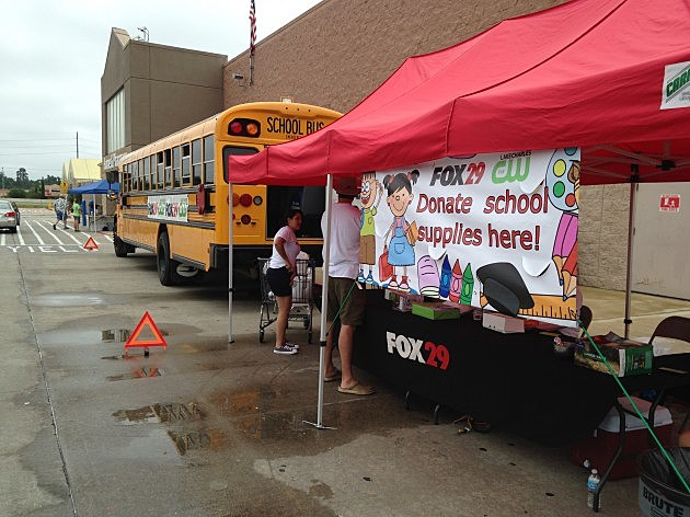Stuff a Bus with School Supplies 2014