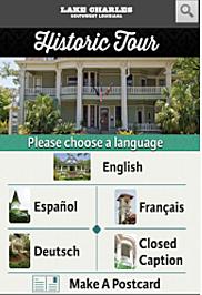 Lake Charles Historic Tour App - Gina Cook
