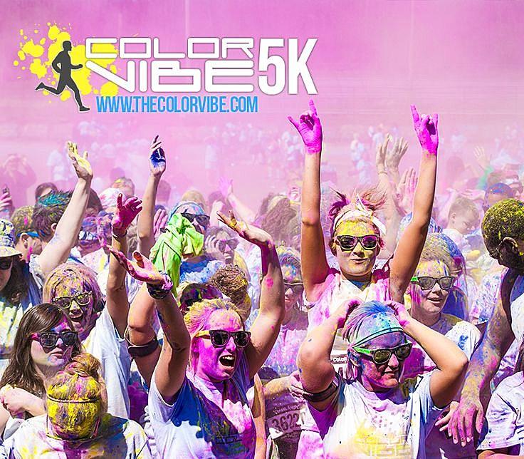 The Color Vibe 5K Run - colorvibe5k via YouTube