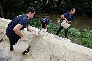 Floods After Heavy Rains At German-Polish Border