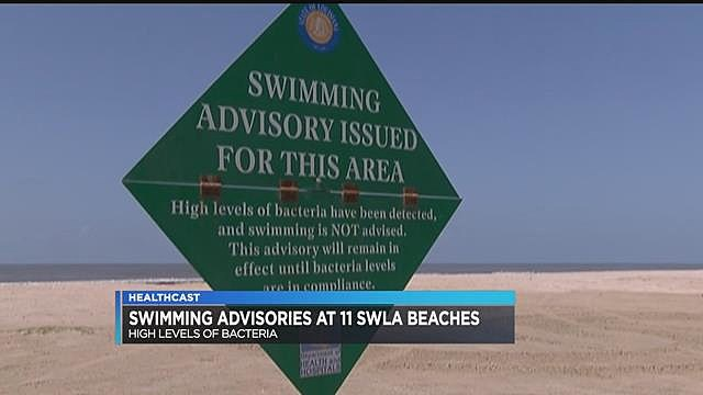 Swimming Advisory - KPLC-TV