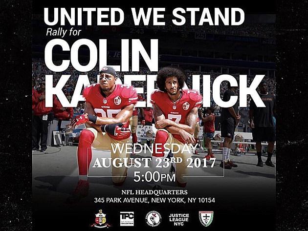 """United We Stand for Colin Kaepernick"""