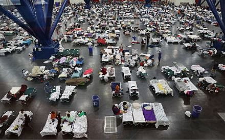 Hurricane Harvey shelter - Joe Raedle via Getty Images