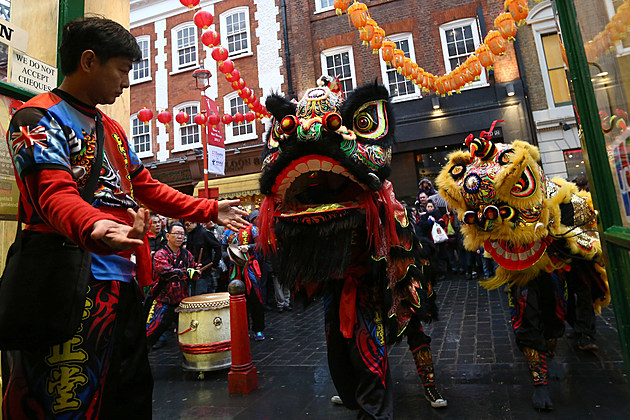 Behind The Scenes At Chinese New Year As Chinatown Prepares To Usher In Year Of The Sheep