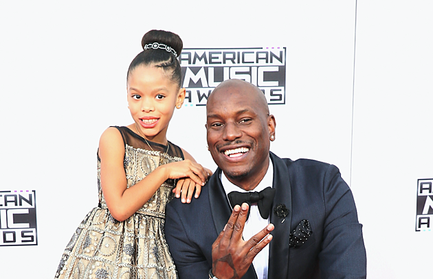 Tyrese & His Daughter, Shayla